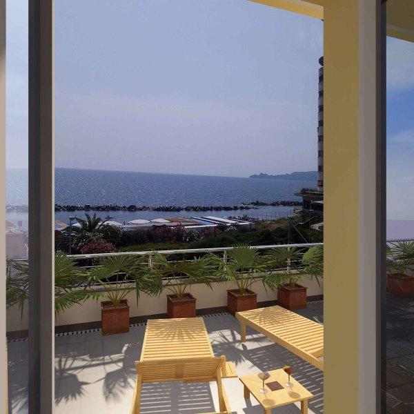 vista panoramica dalla terrazza