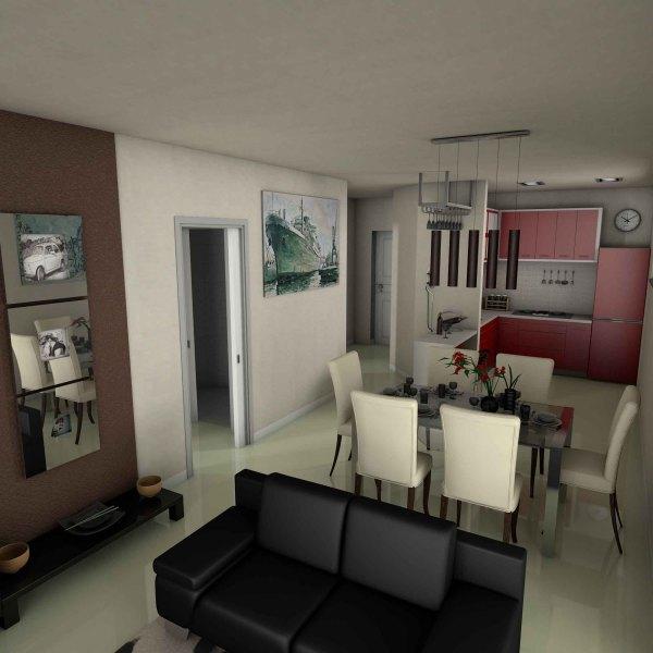 Ambientazioni di interni plurima elaborazioni grafiche for Interni di appartamenti