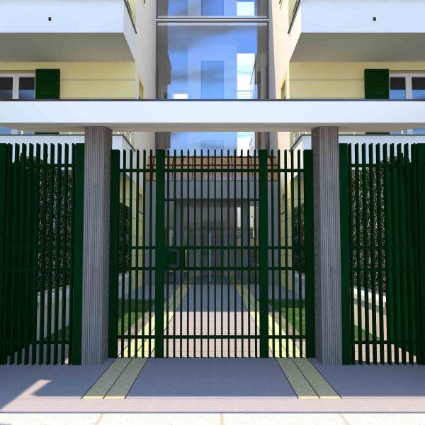 cancello di accesso